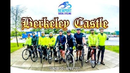 Newport Social Cycling - Berkeley Castle - 30th April 2017