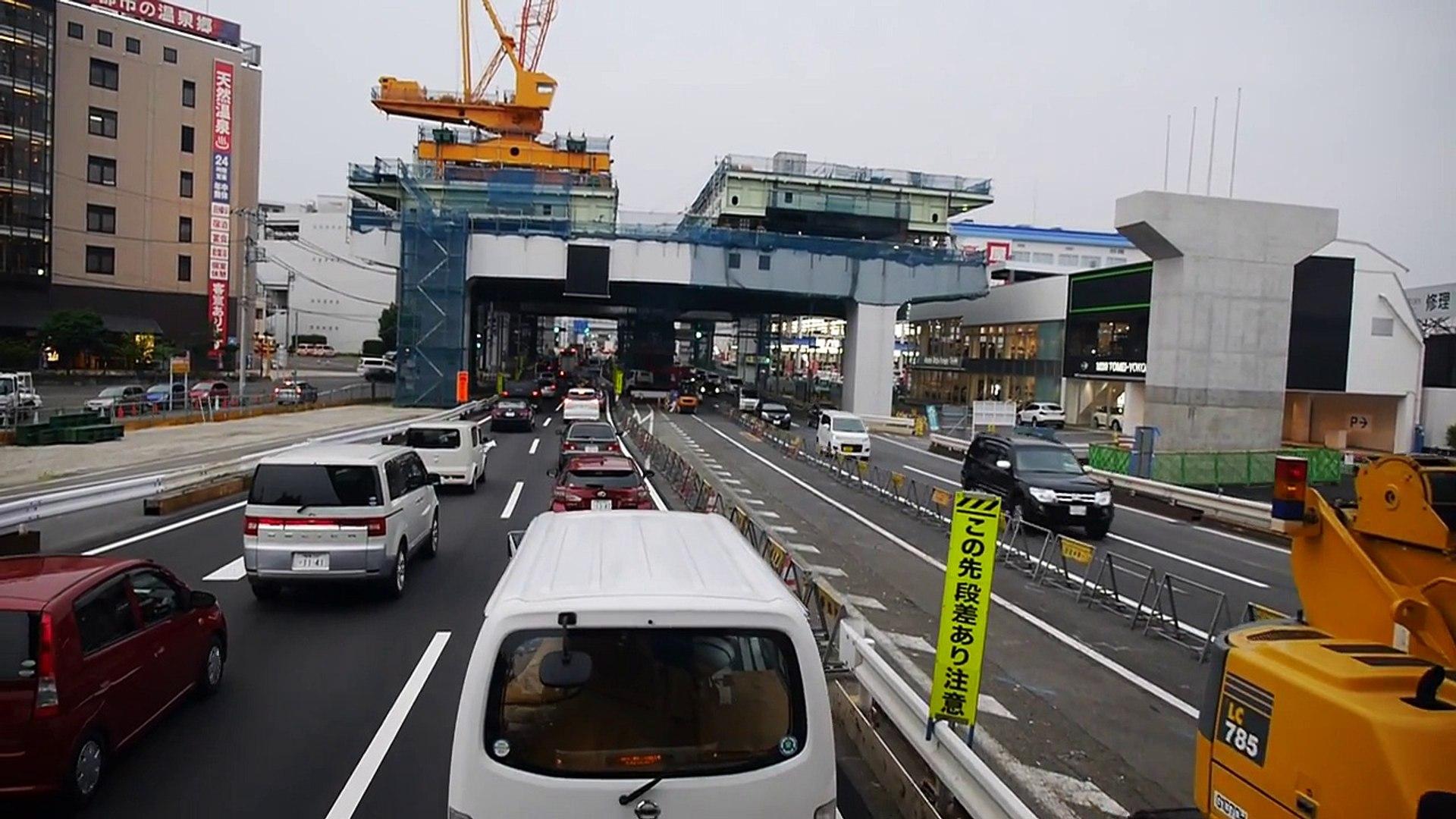 【60fps】西日本JRバス 横浜昼特急大阪2号 前面展望 足柄サービスエリア~町田バスセンター part 2/2