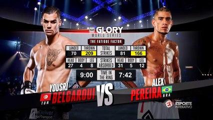 Confira os melhores momentos de Yousri Belgarovi x Alex Pereira