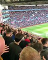 Aston Villa Fans Sing  Dont Look Back in Anger  by Oasis [2017]