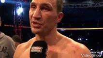 WLADIMIR KLITSCHKO POST FIGHT INTERVIEW AFTER LOSS vs ANTHONY JOSHUA