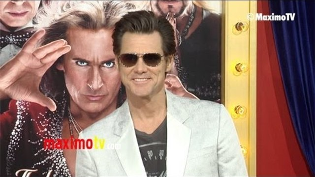 "Jim Carrey ""The Incredible BURT WONDERSTONE"" Premiere Arrivals - Hollywood"