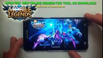 Mobile Legends Cheat Unlimited Diamonds Working 100% FREE Cheat Updated [ANDROID][iOS] 1