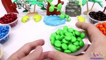 Learning Colors for Children with M&M Candy and The Good Dinosaurs-oKVoWEXF