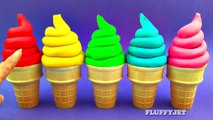 Learn Colors for Kids with Play Doh Ice Cream Cone Surprise Toys Super Mario Bros Inside Out Thomas-s7rModdm