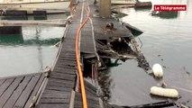 Saint-Malo. 22 bateaux coulés ou détruits au port des Bas-Sablons