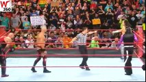 The Hardy Boyz Vs Luke Gallows & Karl Anderson Tag Team Match For WWE Raw Tag Team Championship At WWE Raw On April 03 2017