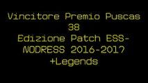 Vincitore Premio Puscas 38 Edizione Patch ESS-NODRESS 2016-2017+Legends