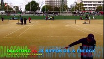 DALSEONG vs JX NIPPON OIL & ENERGY [ASIA CUP Soft Tennis2014] part 1/2