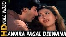 Awara Pagal Deewana _ Alka Yagnik, Kumar Sanu _ Lahoo Ke Do Rang 1997 Songs _ Akshay Kumar