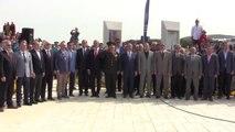 Çanakkale Kara Savaşları'nın 102. Yıl Dönümü - Kireçtepe Jandarma Şehitliği'ndeki Anma Töreni -...