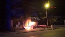 Kütahya Polislerin Gördüğü Yangını Itfaiye Ekipleri Söndürdü