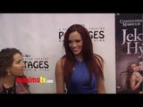 "Jessica Sutta at ""Jekyll & Hyde"" Los Angeles Play Opening Red Carpet ARRIVALS"