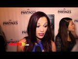 "Jessica Sutta Interview at ""Jekyll & Hyde"" Los Angeles Play Opening Red Carpet ARRIVALS"