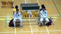 福岡第一vs延岡学園(4Q)高校バスケ 2016 KAZU CUP決勝