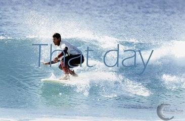 """""""THAT DAY""""... Un día en la vida del surfista Enrique Pérez Salamanca"""