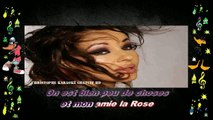 Natacha Atlas - Mon amie la rose KARAOKE / INSTRUMENTAL
