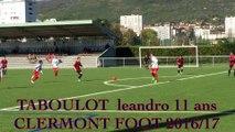 leandro 11 ans (volume/technique/intelligence) LE FOOTBALL !!!