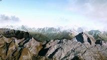 X-Plane survol des Alpes Haute Savoie