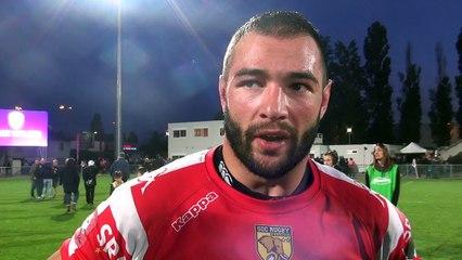 Rugby Fédérale 1 - Steeve Blanc Mappaz après USB - Chambéry