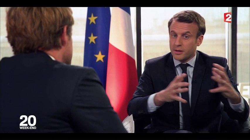 """""""Marine Le Pen manipule la colère"""" des Français : regardez l'interview d'Emmanuel Macron sur France 2"""