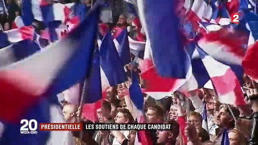 Présidentielle : les soutiens de chaque candidat