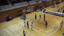 明成vs延岡学園(2Q)高校バスケ 2014 KAZUCUP