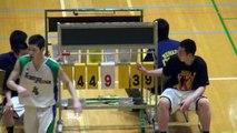 市立船橋vs延岡学園(3Q)高校バスケ 2014 KAZUCUP