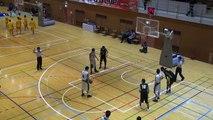 市立船橋vs延岡学園(2Q)高校バスケ 2014 KAZUCUP