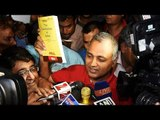 Somnath Bharti surrenders to police in a dramatic style