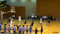 福岡第一vs延岡学園(4Q)高校バスケ 「KAZU CUP 2012」決勝