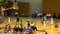 福岡第一vs延岡学園(1Q)高校バスケ 「KAZU CUP 2012」決勝