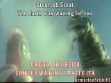 Ultraman Great Japanese ED - Chikyuu wa kimi o matte ita / The Earth was waiting for you (Lyrics)