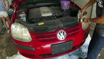 VW GOLF Rabbit Jetta MK5 Front Bumper Cover Removal and Replacement