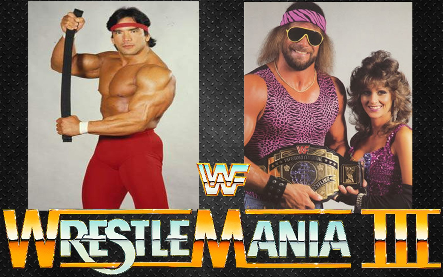 Wrestlemania | Macho Man Randy Savage vs. Ricky Steamboat - video ...