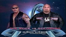 Backlash - The Rock vs. Goldberg