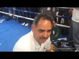 GGG Trainer Abel Sanchez On GGG vs Jacobs 8th rd ko - esnews boxing