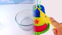 Rainbow Kinetic Sand DIY How to make Colors Kinetic Sand Cake! Birthday Cake Play Sand-TjNoFdBvd