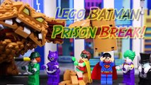 Lego Batman Movie Superman Fights Clayface Arrests Joker with Penguin Catwoman Riddler Rescues Robin-DVr