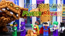 Lego Batman Movie Superman Fights Clayface Arrests Joker with Penguin Catwoman Riddler Rescues Robin-D