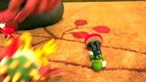 Super Mario Bros ATTACK! - Spiderman vs Joker - Mario, Luigi, King Bowser Koopa, Frozen Elsa-eNRTSG