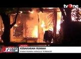 Kebakaran Besar Hanguskan Enam Rumah di Komplek Satwal Polri