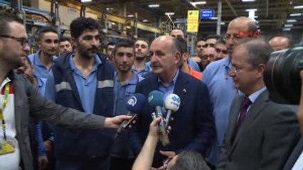Bakan Müezzinoğlu, 1 Mayıs Dolasıyla Fabrikaları Ziyaret Etti