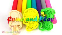 Learn Colors Play Doh Modelling Clay Popsicle Ice Cream Pororo Paw Patrol Microwave Surprise Toys-Uug