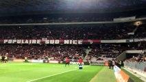 Le chant génial des supporters niçois en hommage à Hatem Ben Arfa