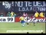 Ronaldinho but superbe avec le bresil contre le veneuzela