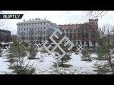 Swastika-looking snowflakes pop up at Latvian Xmas market