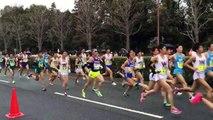 【がんばれ中央大】 2015立川ハーフ(日本学生ハーフ)マラソン①西立川駅前折り返し地点