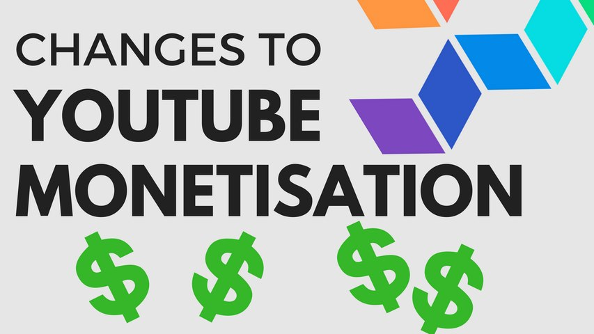 BREAKING NEWS: Changes in YouTube's Monetisation Policy