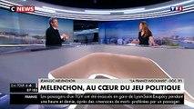 Jean-Luc Mélenchon sur TF1 refuse toujours de dire si il va voter blanc ou pour Emmanuel Macron